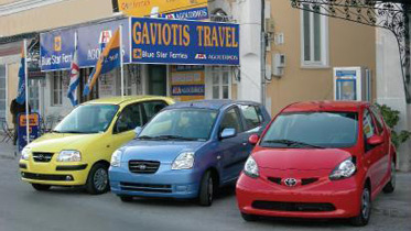 Gaviotis rent a car